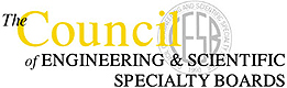 The Council of Engineering & Scientific Specialty Boards