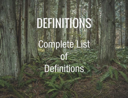 DICTIONARY: List of Environmental Engineering Definitions