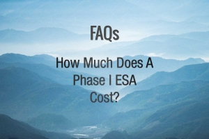 How much does a Phase I ESA cost?