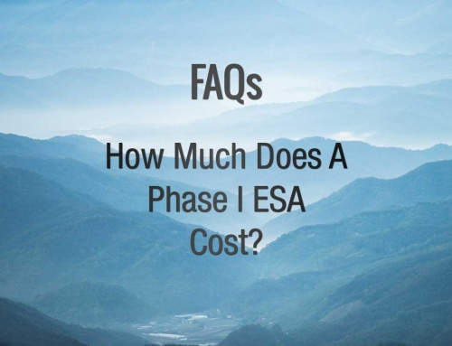 FAQ: How much does a Phase I ESA cost?