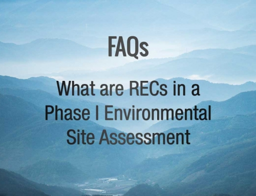 FAQ:  What are RECs in a Phase I Environmental Site Assessment?