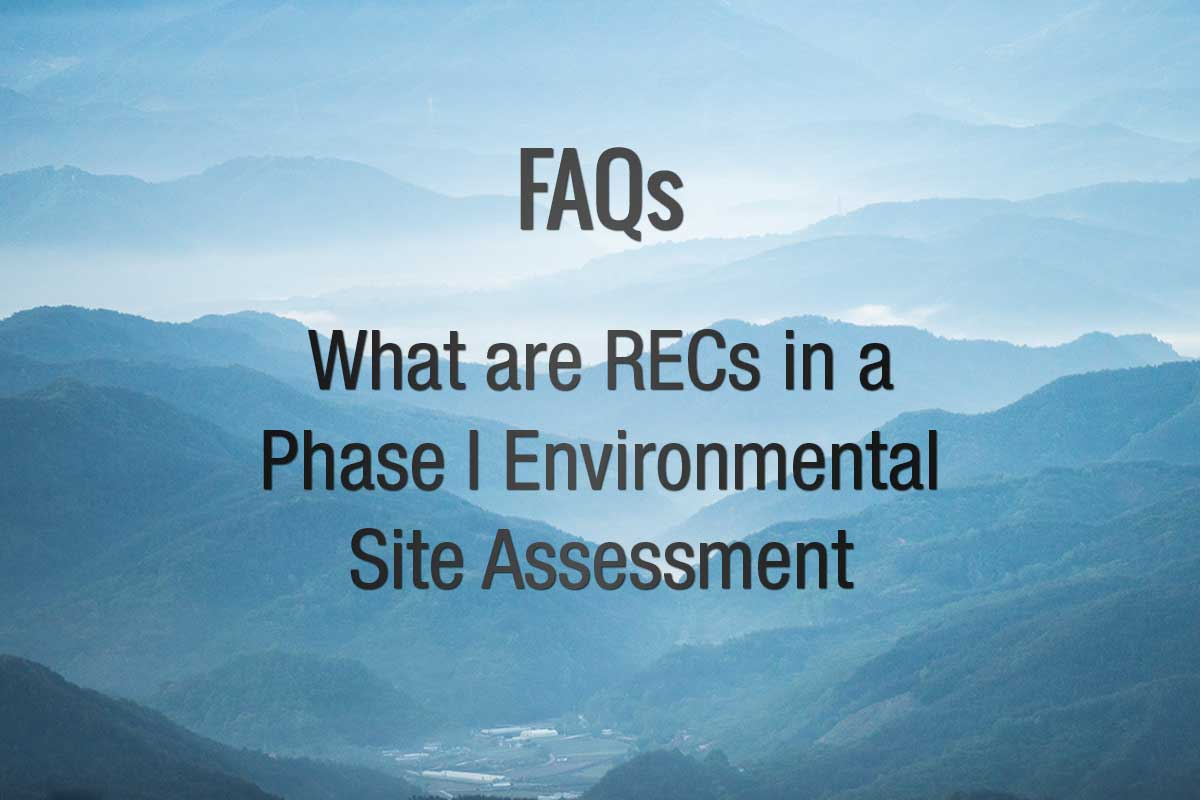 What Are REC in a Phase I ESA?