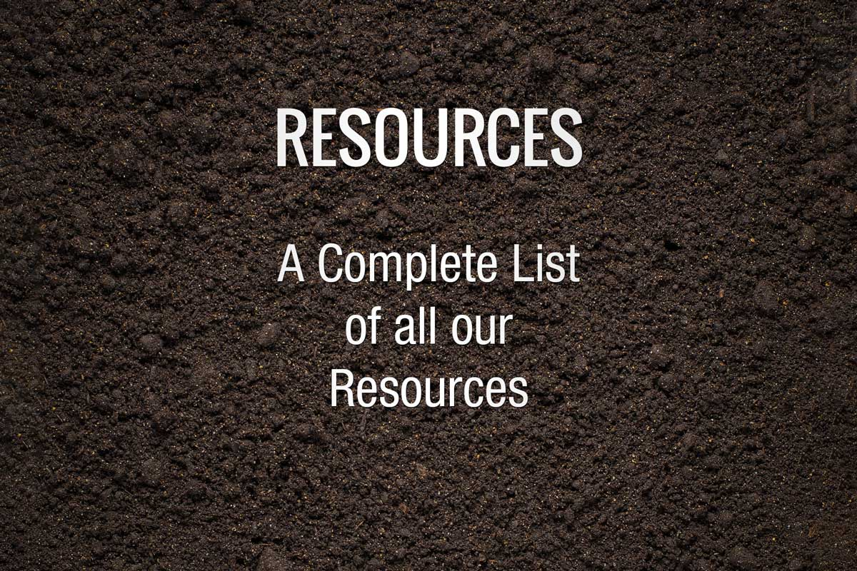List of Resources Environmental Engineering
