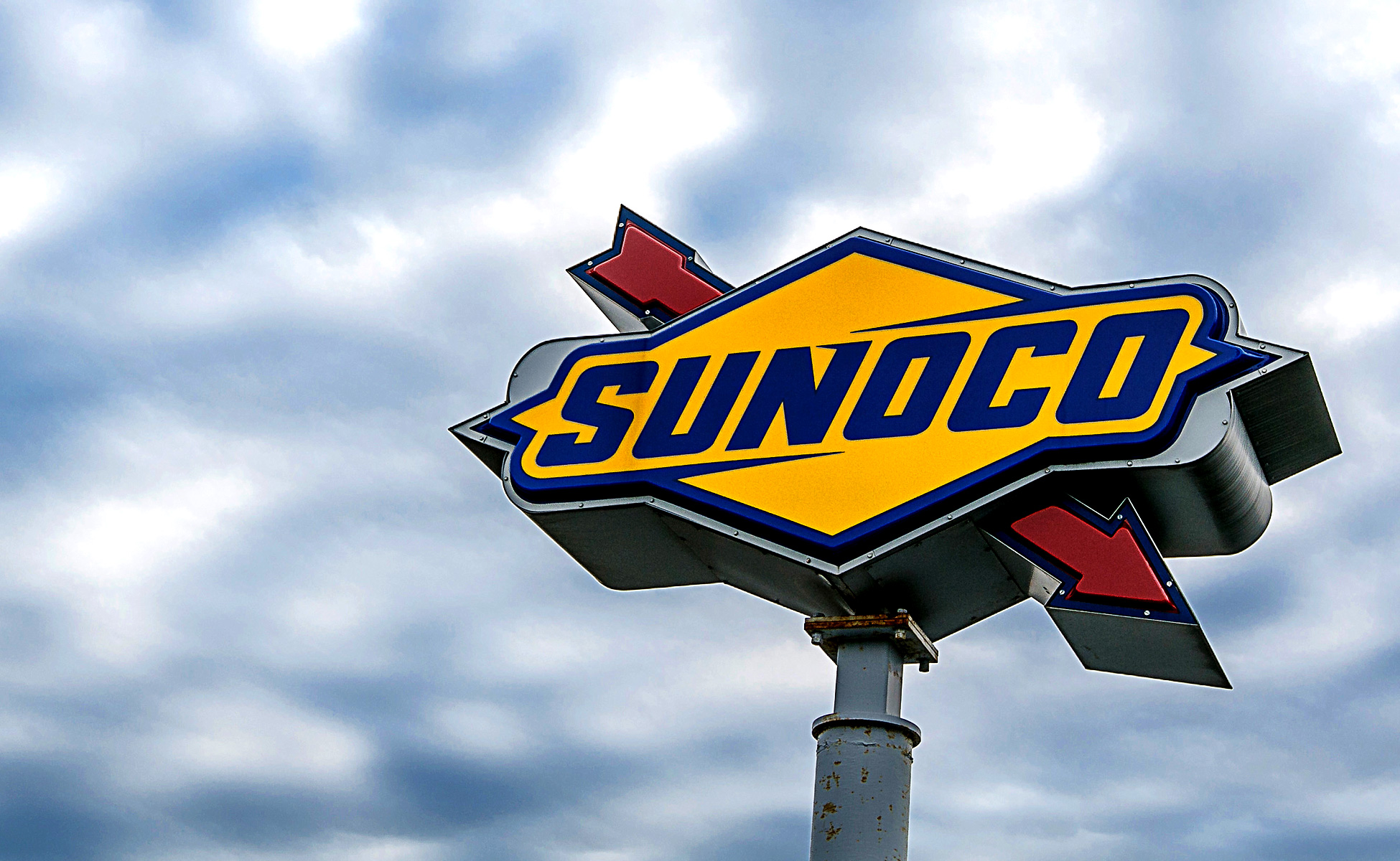 Sunoco Sign for Slider