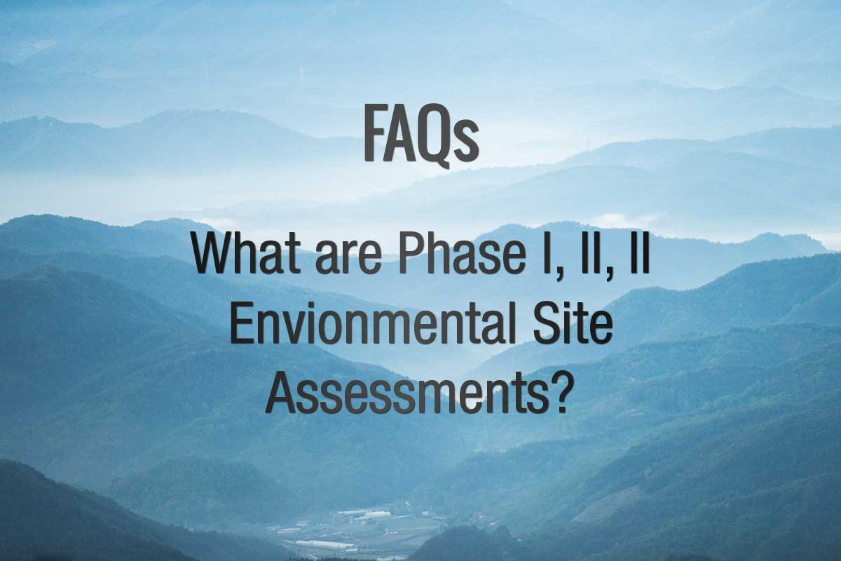 What are Phase I, Phase II, Phase III ESAs