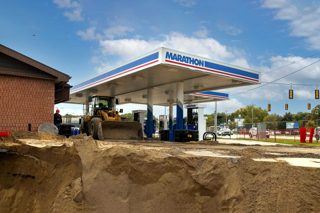 Bedel Marathon Gas Station Remediation