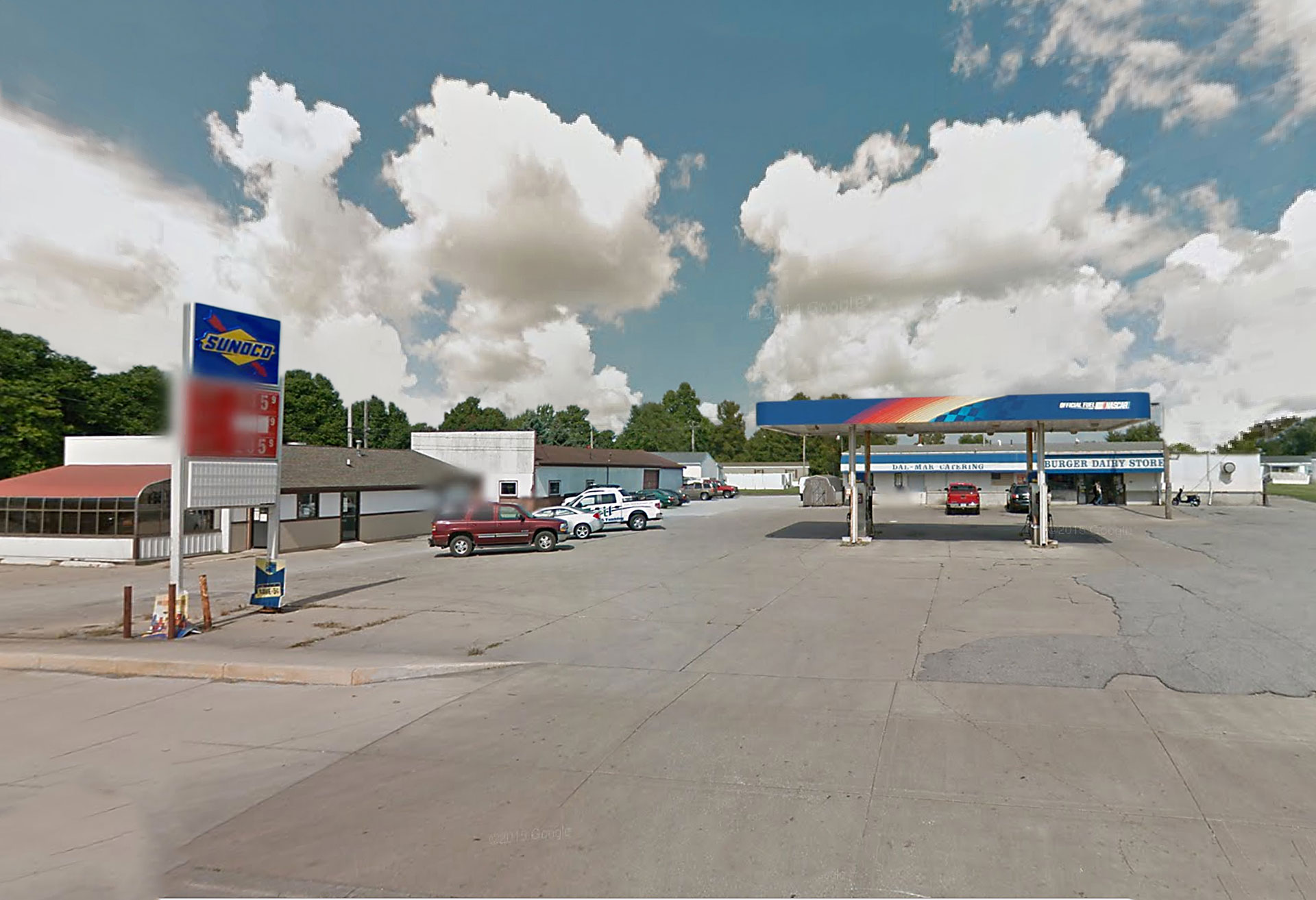 Former Sunoco Gas Station